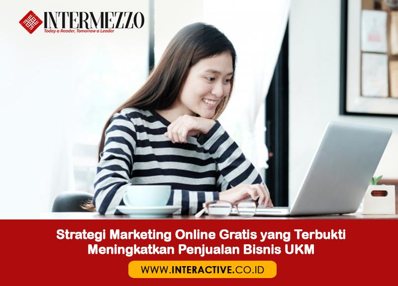 Strategi Promosi Online Gratis Untuk Meningkatkan Penjualan Interactive Blog