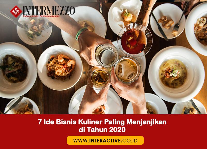 7 Ide Bisnis Kuliner Paling Menjanjikan Di Tahun 2020 Interactive Blog