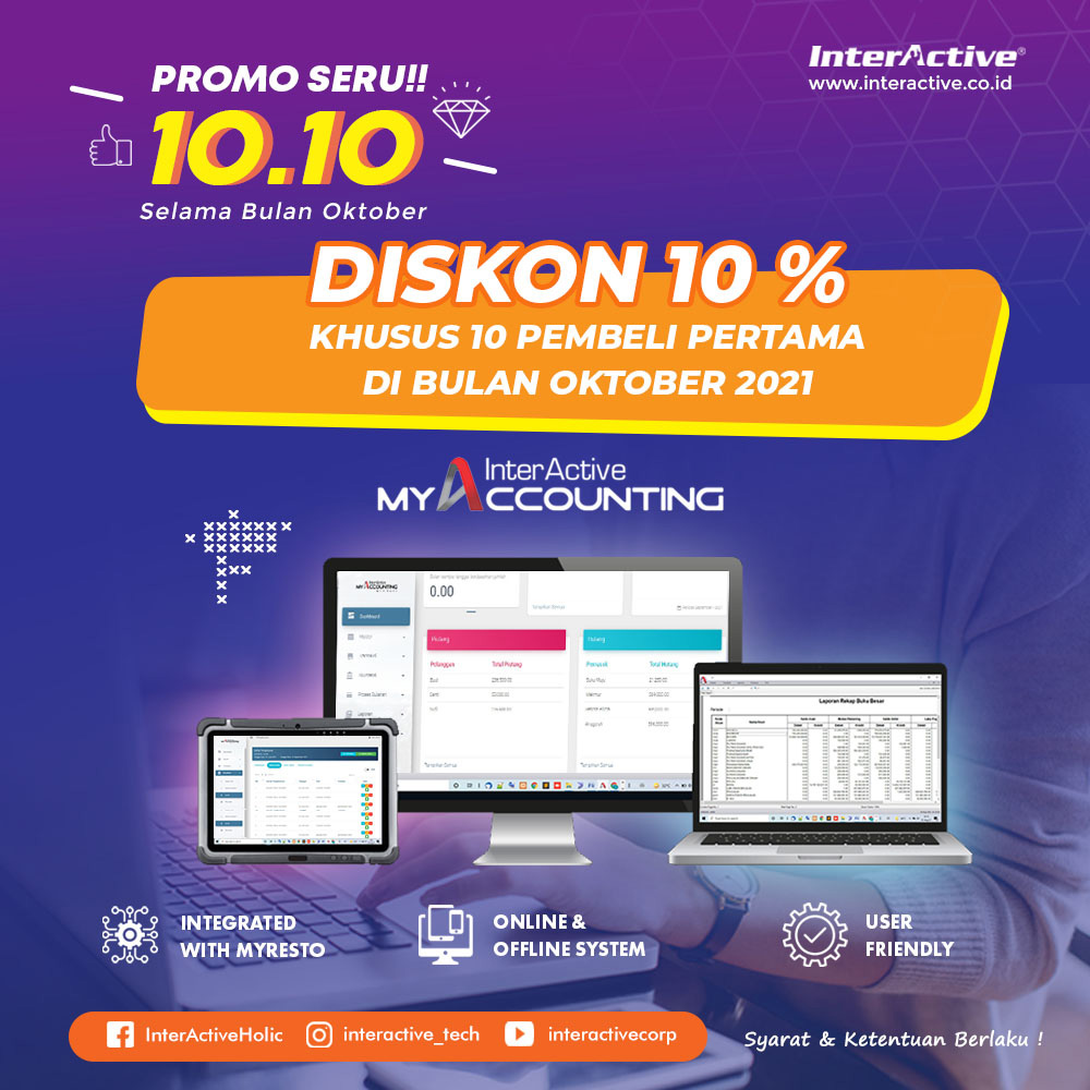 Promo InterActive MyAccounting Bulan Oktober 2021