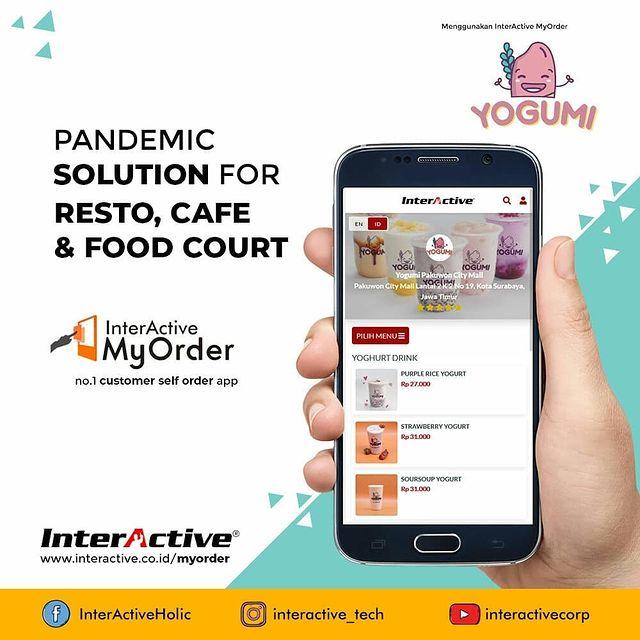 Klien InterActive, myorder,Yogumi, InterActive MyOrder